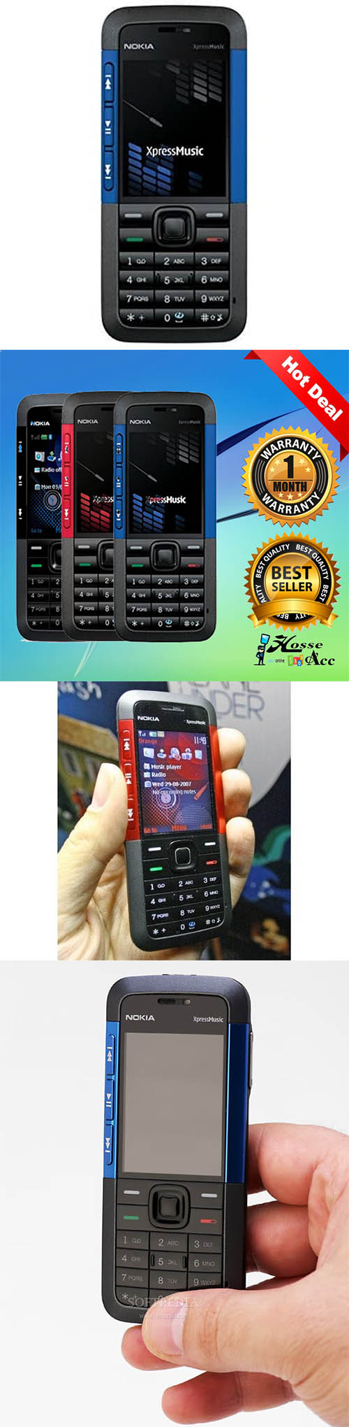 Nokia 5310 xpress music refurbish